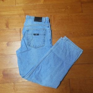 Polo Light Washed Straight Leg Loose fit Jeans